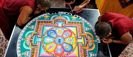 The Beauty of Tibetan Sand Paintings and The Philosophy Behind Them