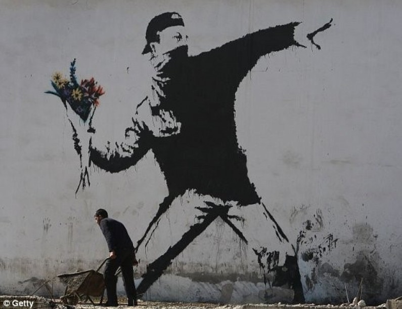 Who is Banksy? Art in its purest.