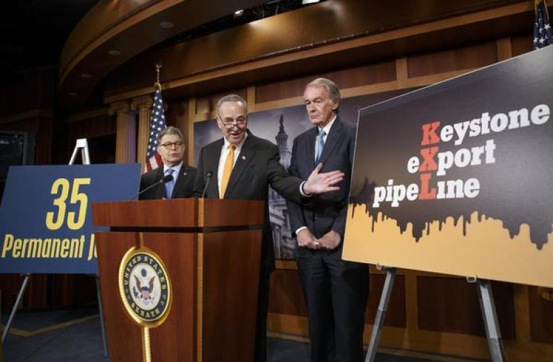 Senate Democrats Confident of Sustaining Keystone Veto