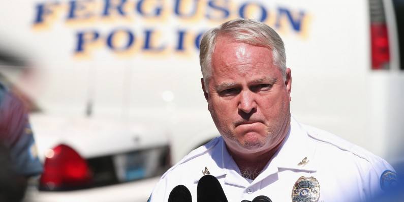 Embattled Ferguson Police Chief Resigns