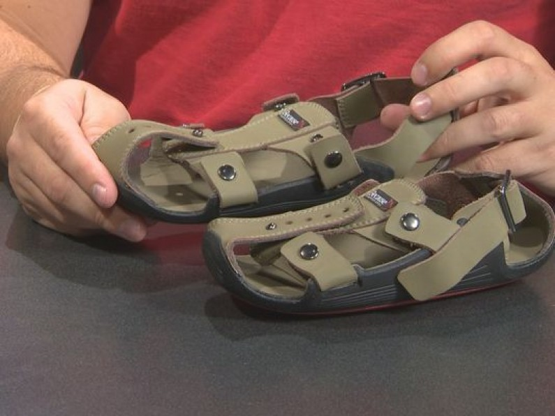 Man Invents Sandals That Grow 5 Sizes