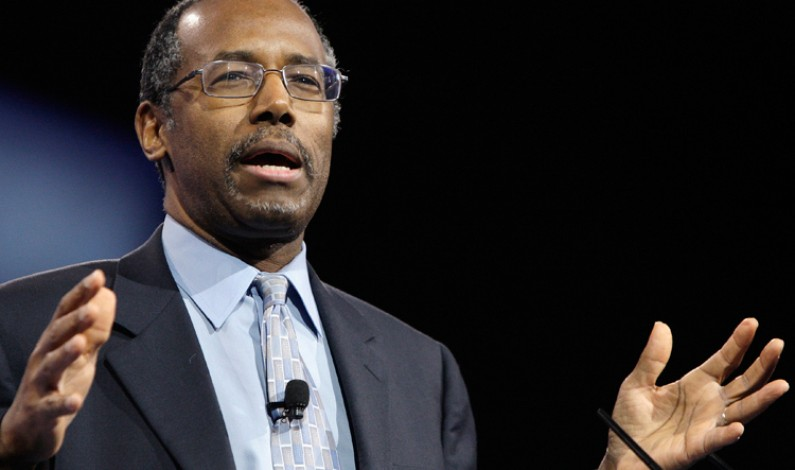Ben Carson Is Fighting A Culture War